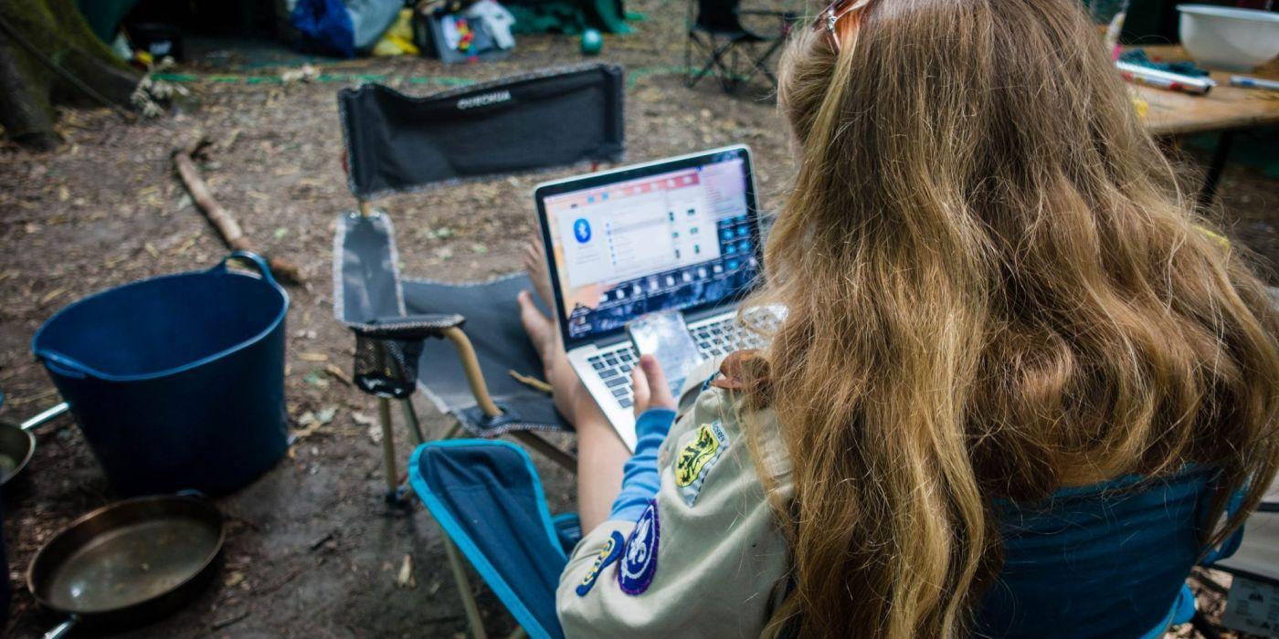 Hoe mediawijs is jouw scoutsgroep?